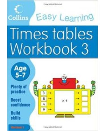 Collins Easy Learning - Times Tables - Age 5-7 - Workbook 3