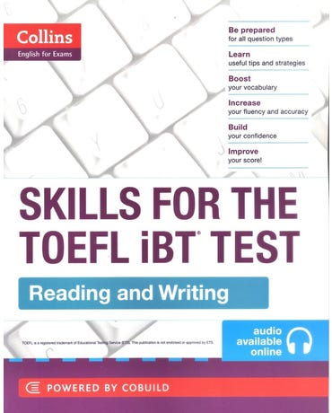 Skills For The TOEFL Ibt Test - Reading And Writing - Book With Audio CD