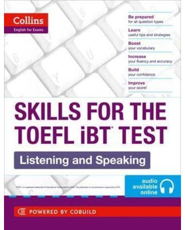 Skills For The TOEFL Ibt Test - Listening And Speaking - Book With Audio CD