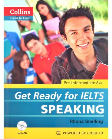 Get Ready For Ielts Speaking - Pre-Intermediate A2+ - Collins English For Exams - Book W/Audio CD