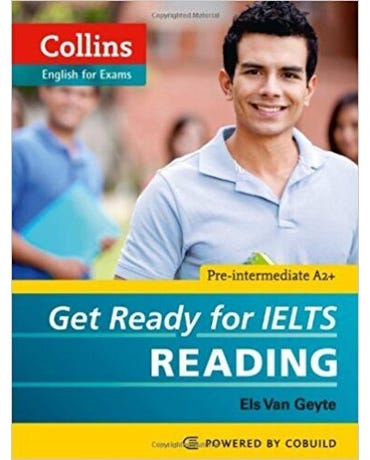 Get Ready For Ielts Reading - Pre-Intermediate A2+ - Collins English For Exams