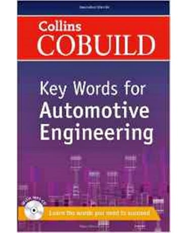 Collins Cobuild Key Words For Automotive Engineering - Book With MP3 CD