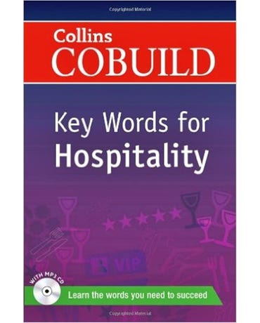 Collins Cobuild Key Words For Hospitality - Book With MP3 CD