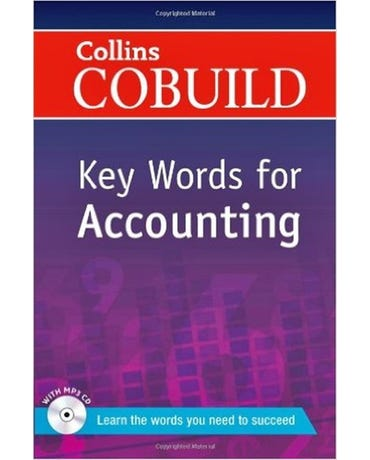 Collins Cobuild Key Words For Accounting - Book With MP3 CD