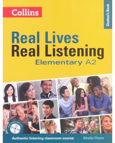 Real Lives, Real Listening - Elementary - Student's Book With MP3 CD