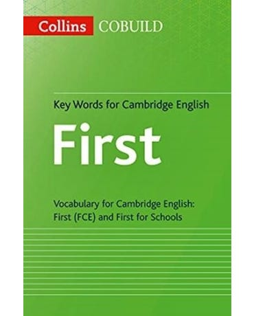 Collins Cobuild Key Words For Cambridge English First