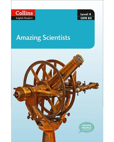 Amazing Scientists - Collins English Readers - Level 4 - Book With MP3 CD