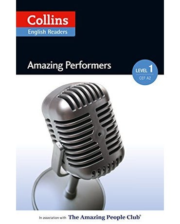 Amazing Performers - Collins English Readers - Level 1 - Book With MP3 CD