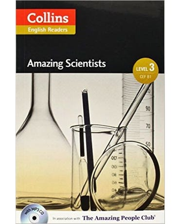 Amazing Scientists - Collins English Readers - Level 3 - Book With MP3 CD