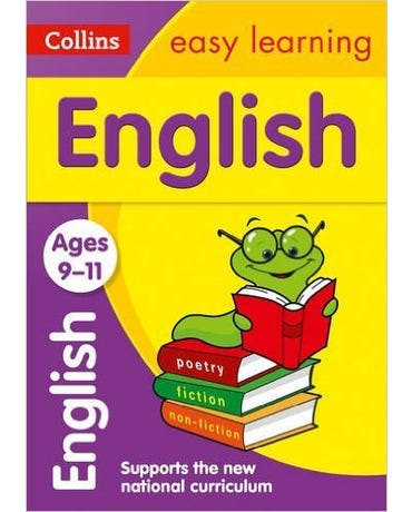Collins Easy Learning - English - Ages 9-11