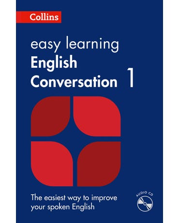 Collins Easy Learning English Conversation 1 - Book With Audio CD