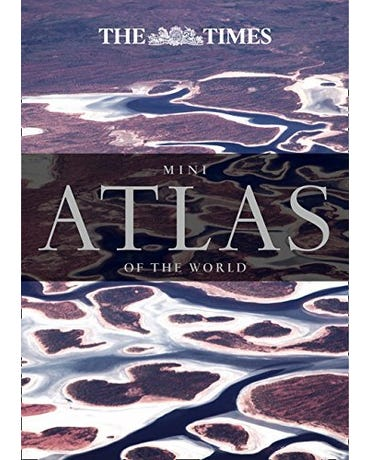 Mini Atlas Of The World - Hardback