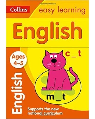 Collins Easy Learning - English - Ages 4-5