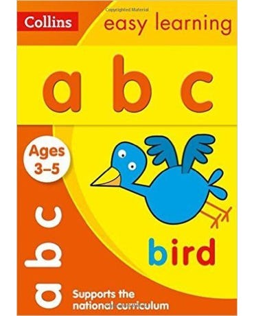 Collins Easy Learning - Abc - Ages 3-5 - New Edition