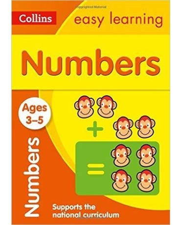 Collins Easy Learning - Numbers - Ages 3-5 - New Edition