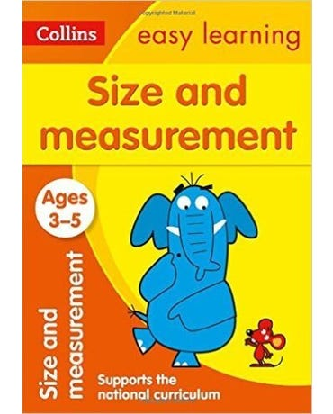 Collins Easy Learning - Size And Measurement - Ages 3-5 - New Edition
