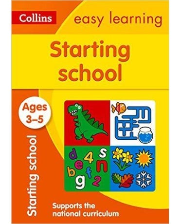 Collins Easy Learning - Starting School - Ages 3-5 - New Edition