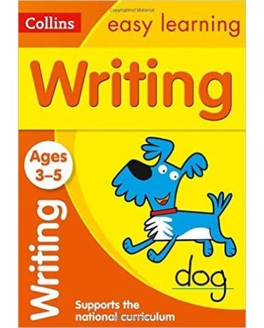 Collins Easy Learning - Writing - Ages 3-5 - New Edition