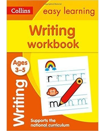 Collins Easy Learning - Writing Workbook - Ages 3-5 - New Edition