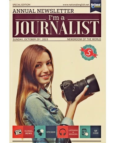 I'm A Journalist 5 - Student's Book With Global News, Sticker And Listening & Speaking Qr Code