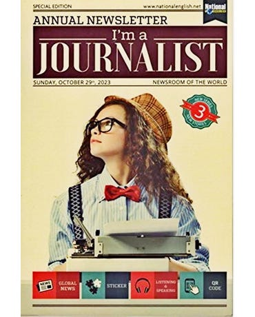 I'm A Journalist 3 - Student's Book With Global News, Sticker And Listening & Speaking Qr Code