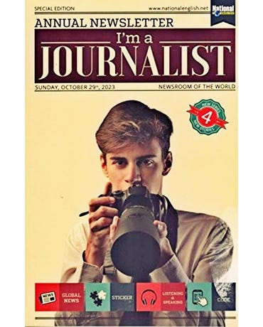 I'm A Journalist 4 - Student's Book With Global News, Sticker And Listening & Speaking Qr Code