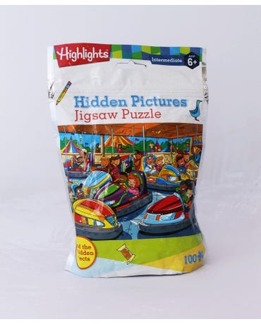 Hidden Pictures - Jigsaw Puzzle - Find The 26 Hidden Objects - 100 Pieces