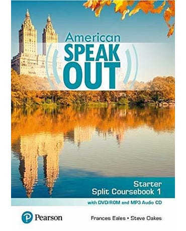 American Speakout Starter - Split Coursebook 1 With DVD-ROM And MP3 Audio CD - Second Edition