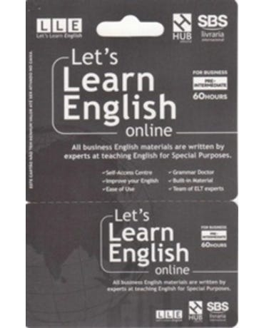 Let's Learn English Card - For Business - Pre-Intermediate (6 Months)