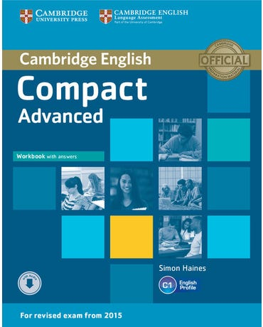 Cambridge English Compact Advanced - Workbook With Answers And Audio CD
