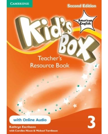 Kid's Box American English 3 - Teacher's Resource Book With Online Audio - Second Edition