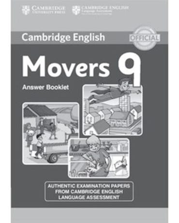 Cambridge Young Learners Movers 9 - Answer Booklet