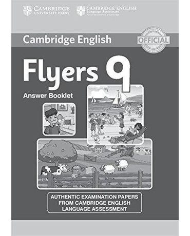 Cambridge English Young Learners Flyers 9 - Answer Booklet