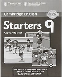 Cambridge English Young Learners Starters 9 - Answer Booklet