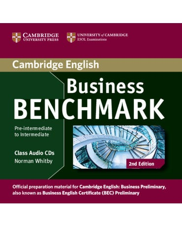 Business Benchmark Pre-Interm. To Interm. Business Preliminary - Class Audio CD (Pack Of 2)- 2Nd Ed.
