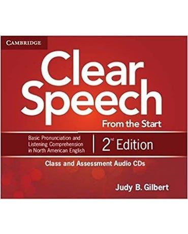 Clear Speech From The Start - Class And Assessment Audio Cds (Pack Of 4) - Second Edition