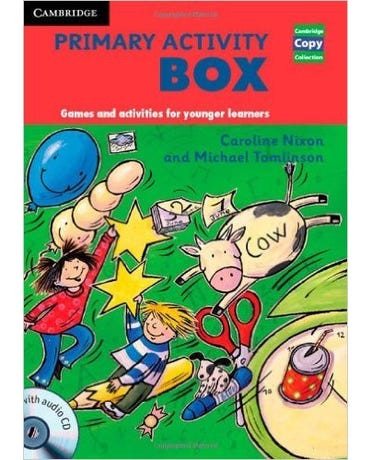 Primary Activity Box - Games And Activities For Younger Learners - Book With Audio CD