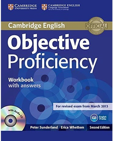 Objective Proficiency - Workbook With Answers And Audio CD - Second Edition