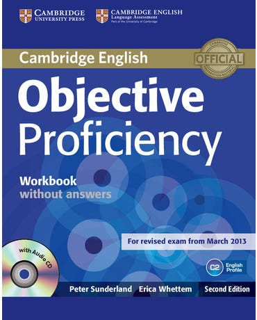 Objective Proficiency C2 - Workbook Without Answers With Audio CD