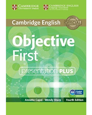 Objective First - Presentation Plus DVD-ROM - Fourth Edition