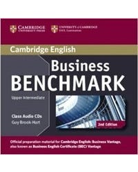 Business Benchmark Upper-Intermediate Business Vantage - Class Audio CD (Pack Of 2) - Second Edition