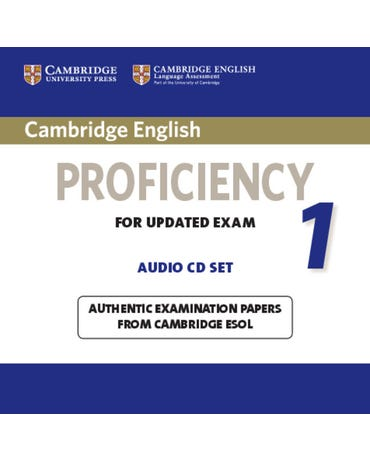 Cambridge English Proficiency 1 - For Updated Exam - Audio Cds (Pack Of 2)