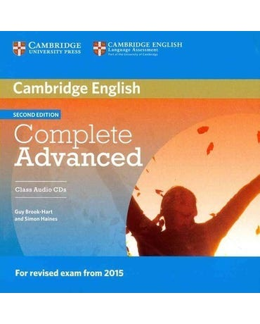 Complete Advanced - Class Audio CD (Pack Of 2) - Second Edition