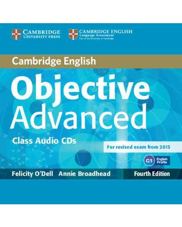 Objective Advanced - Class Audio CD (Pack Of 2) - Fourth Edition