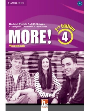 More! 4 - Workbook - Second Edition