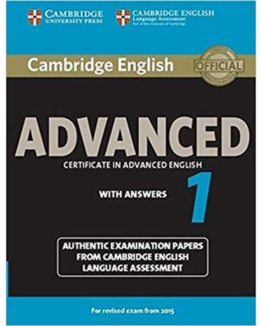 Cambridge English Advanced 1 - Student's Book With Answers