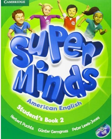 Super Minds American English 2 - Student's Book With DVD-ROM