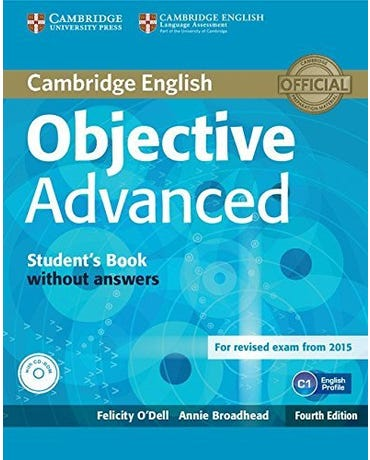 Objective Advanced - Student's Book Without Answers And CD-ROM - Fourth Edition