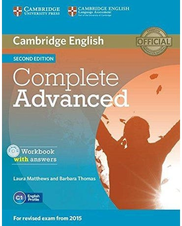 Complete Advanced - Workbook With Answers And Audio CD - Second Edition
