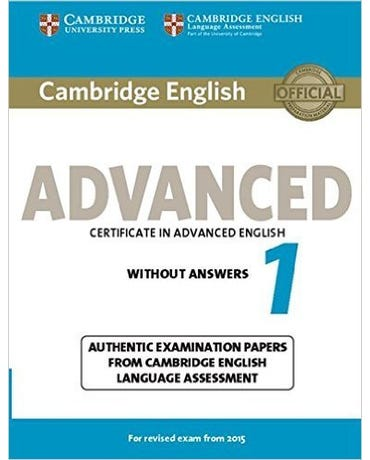 Cambridge English Advanced 1 - Student's Book Without Answers